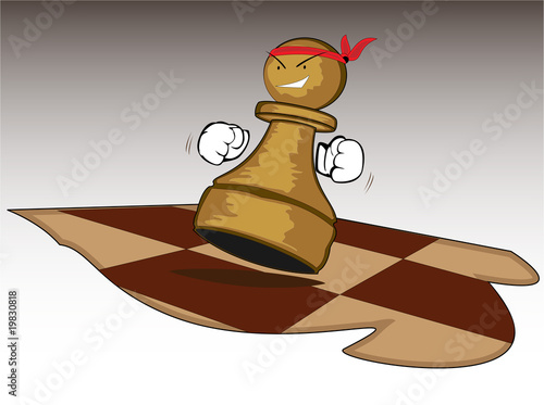 brave chess figure