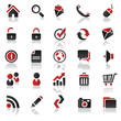 red icons set 1
