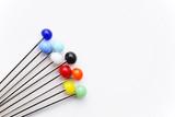 Creative Needles Concept - Stecknadeln poster