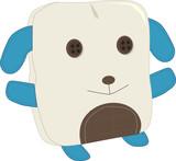 stuffed animal patchwork poster