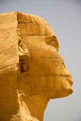 The Sphinx Up close and very personal