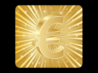 euro money icon illustration