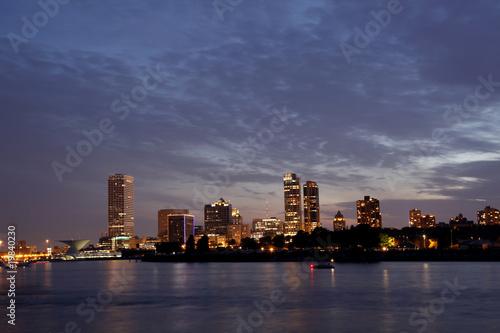 Fotobehang Grote meren Milwaukee