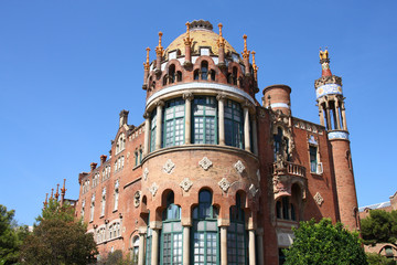 Barcelona - famous modernist hospital