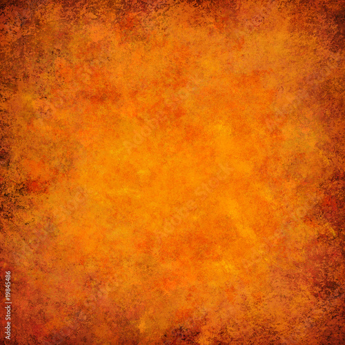 orange grunge textured abstract background