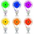 lampadine fiore