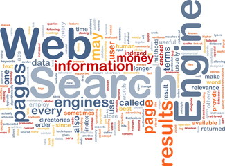Search engine background concept