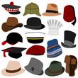 Lots of Mens Hats Set 01