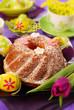 easter ring cake
