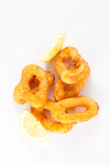 tasty fried calamari