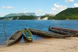 Fototapety Canaima lagoon, Venezuela