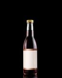Red wine Vinegar bottle with genuine label poster