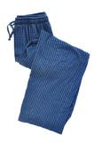 Blue Plaid Pajama Pants poster