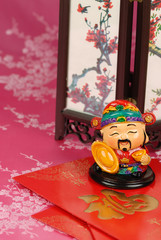 Chinese lunar new year ornament