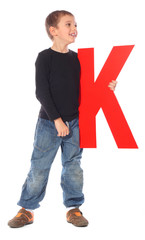 "Letter ""K"" boy - See all letters in my Portfolio"