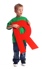 "Letter ""R"" boy - See all letters in my Portfolio"