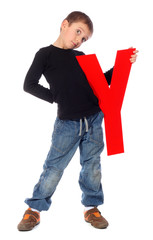 "Letter ""Y"" boy - See all letters in my Portfolio"