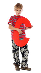 "Letter ""C"" boy - See all letters in my Portfolio"