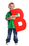 "Letter ""B"" boy - See all letters in my Portfolio"