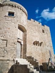 Carlo V castle. Monopoli. Apulia.
