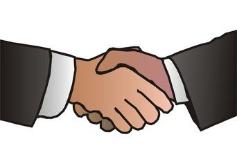 ręce męskie powitanie uściskdłoni