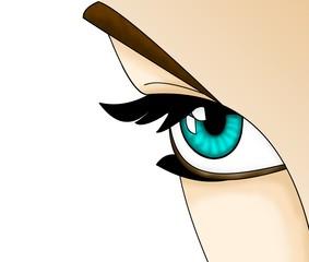 Augenaufschlag
