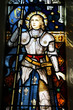 Joan of Arc in Wellington church, New Zealand