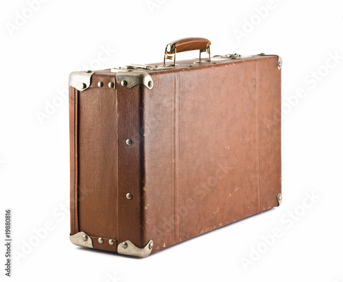 Travel - old-fashioned suitcase