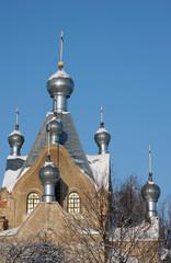 orthodox cathedral in Tartu, Estonia