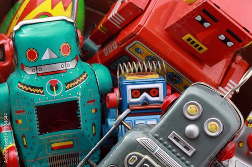 Foto op Canvas robot toys