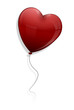 Love heart ballon
