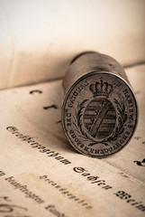 Historisches Siegel