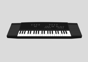 electronic keyboard BW