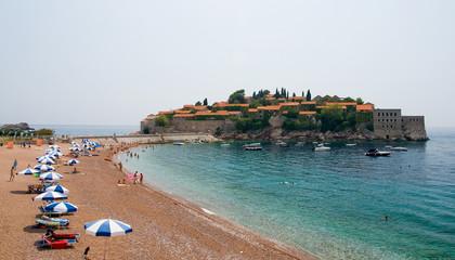 saint stephan island in montenegro