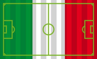 Italien als  Fußballfeld