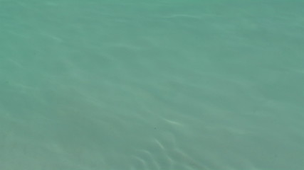 turquoise indian ocean surface