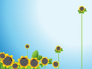 Sunflowers  horizontal