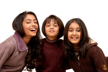 three indian sisters