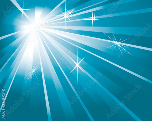shine blue background