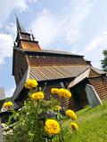 Kaupanger Viking Church poster