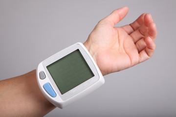 Computer Blutdruck LCD Tasten