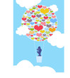 Valentinstag - Hochzeit - Liebespaar