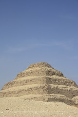 Pyramide in Sakkara