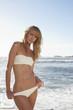 Sexy girl on a beach