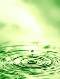 Wassertropfen mit Textfreiraum