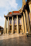 famous temple Phra Sri Ratana Chedi in the inner Grand Palace poster