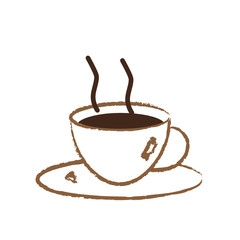 Kaffeetasse abstrakt