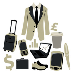 bussiness man accessories set