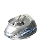 Crushed aluminium can