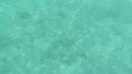 Wasseroberfläche Indischer Ozean